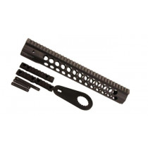 "Troy Industries Alpha Revo Rail, .308 DPMS HP 13"", Carbon Fiber Black"