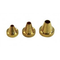 Birchwood Casey Muzzle Guard Set 17 To 30 Cal 3 Pc Brass