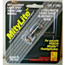 Mity Lite Replacement Laser Spot Xenon Lamp Module # 1904 Pelican Flashlights