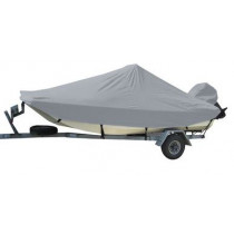 Carver Performance Poly-Guard Styled-to-Fit Boat Cover f/19.5' Bay Style Center Console Fishing Boats - Grey - 71019P-10