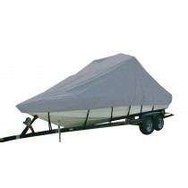 Carver Performance Poly-Guard Specialty Boat Cover f/20.5' Sterndrive V-Hull Runabout/Modified Boats - Grey - 83120P-10