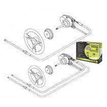 SeaStar Solutions NFB Dual Rotary Steering Kit with 12' Cable