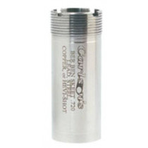 Carlson's 12 Gauge Beretta and Benelli Mobil Flush Mount Choke Tube, Improved Modified, Stainless Steel
