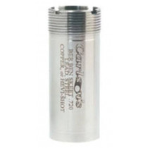 Carlson's 20 Gauge Beretta and Benelli Mobil Flush Mount Choke Tube, Full, Stainless Steel