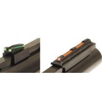"TRUGLO 3/8"" Magnum Gobble-Dot Xtreme Fiber Optic Shotgun Sights Contrasting Colors Magnetic Mount"