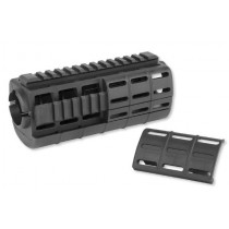Tapco AR Carbine Handguard for AR-15 and M4 Quad Rail Black