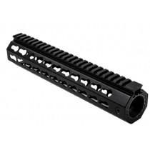 "NcSTAR AR15 10"" Free Float Key-Mod Handguard with Barrel Nut Aluminum, Black"