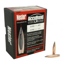 Nosler AccuBond Long Range Bullets 270 Caliber (277 Diameter) 150 Grain Bonded Spitzer Boat Tail Box of 100