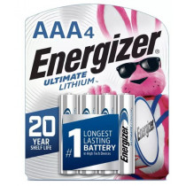Energizer 4pk Ultimate Lithium AAA Batteries