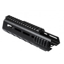 NcStar VISM AR15 Triangle M-Lok Two Piece Drop In Handguard, Carbine Length