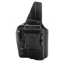 1791 Gunleather Kydex Multi-Fit IWB Holster For Springfield XDs, Black, Right Hand