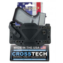 "LimbSaver CrossTech Gun Holster with 1.5"" Web Belt Most Handguns IWB/OWB Up to 1.7"" Belt Ambidextrous"