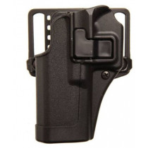 Blackhawk SERPA CQC Belt/Paddle Holster For S&W M&P Shield 9/40, Black, Left Hand