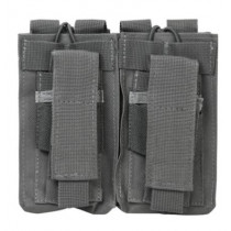 NcSTAR Tactical Double Mag Pouch, Urban Gray