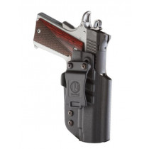 1791 Gunleather Kydex Multi-Fit IWB Holster For Government 1911 Semi Auto Pistols, Black, Right Hand