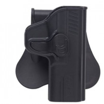 Bulldog Rapid Release Paddle Holster, Springfield XD-45, Black, Right Hand