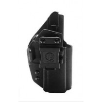 1791 Gunleather Tactical Kydex Multi-Fit IWB Holster for SIG Sauer P320 Semi Auto Pistols Right Hand Draw Kydex Black