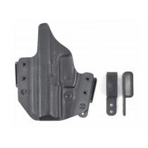 "L.A.G. Tactical Defender Series OWB/IWB Holster 1911 4.25"" Commander, Right Hand"