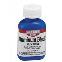 Birchwood Casey Aluminum Black Metal Finish 3 oz Bottle