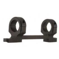 "DNZ Products 1"" High Matte Black Base/Rings/Mossberg Model 100"