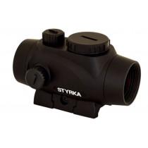 STYRKA S3 Green Dot 1x21mm Illuminated 5 MOA Dot