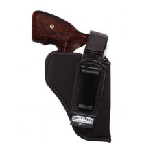 "Uncle Mikes Inside the Pant Holster with Retention Strap 4"" Barrel Medium and Intermediate Double Action Revolvers, Right Hand"