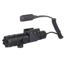 Barska GLX Laser Sight 5mW Green Laser with Picatinny-Style Ring Mount and Momentary Switch
