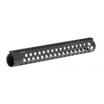 "Troy Industries Alpha Rail 15"", No Sight, Black"