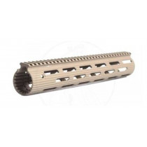 "Troy Industries AR-15 Alpha Rail, 13"" Free Floating Modular Handguard, Aluminum, Flat Dark Earth"