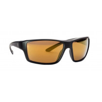 Magpul Summit Shooting Glasses Black Frame Polarized Anti-Reflective Bronze/Gold Mirror Lenses