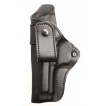 """Blackhawk CQC IWB ITP Inside the Waistband Leather Holster 3.3"""" For Springfield XDS, Left Hand"""