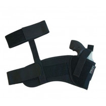 "Uncle Mike's Sidekick Ankle Holsters Fits 2"" Barrel, Small Frame 5- Shot Revolvers, Right Hand"