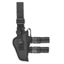 Bulldog Cases Tactical Leg Holster Medium to Large Autos Right Hand