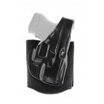Galco SIG Sauer P938 Ankle Holster w/ Ankle Glove, Right Hand, Leather/Neoprene, Black