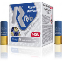 "Rio Royal BlueSteel 12 GA, 3"" #2 Shot, Box of 25"