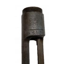 Belgian 1889 Mauser Receiver, Birmingham Mfg, *Fair*