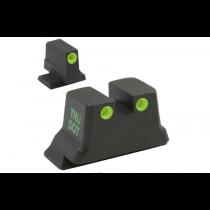 Meprolight Self Illuminated Tru-Dot Fixed Night Sights for Smith & Wesson M&P Shield, C.O.R.E