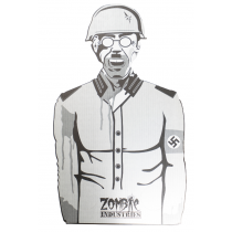 """Zombie Industries Nazi Outbreak Cardboard Target (33 X 20"""") 45 Pack"""