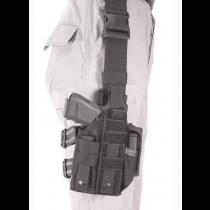 BLACKHAWK! Nylon Omega VI Ultra Universal Modular Light Ambidextrous Tactical Drop Leg Holster