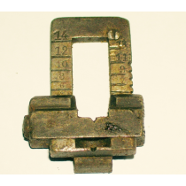 Spanish 1893 Carbine Rear Sight