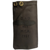 Enfield Muzzle Cover, Canvas, *NOS*