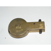 Enfield No.4 Brass Buttplate Trap w/ Pin, British, *NOS*