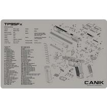 Canik TP9SFx Gun Mat