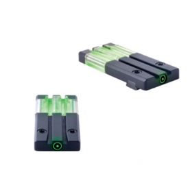 Meprolight FT Bullseye H&K VP9 Micro Optic Pistol Sight Fiber Optic And Tritium Green ML63125