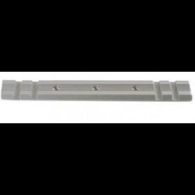 Weaver Standard Top Mount Aluminum Scope Base - Silver - #414S - Remington 597