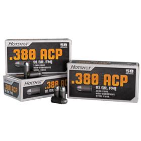 Hotshot .380 ACP<br>91gr FMJ