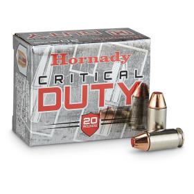 Hornady Critical Duty 45 ACP, 185 GR FTX, Box of 20