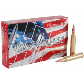Hornady American Whitetail 300 Win Mag, 150 GR SP, Box of 20