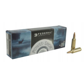 Federal Power-Shok 270 Winchester Short Magnum (WSM), 130 GR Soft Point, Box of 20