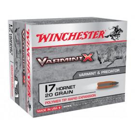 Winchester Varmint X 17 Hornet, 20 GR Polymer Tip, Box of 20